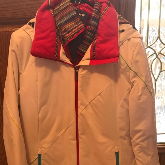 10//12 Girls Spyder Girl/'s Celeste Fleece Jacket Size M NWT